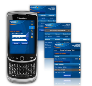 Actualizado - Mercantil Movil v2.0.0 (Aplicacion del banco Mercantil para tu BlackBerry)